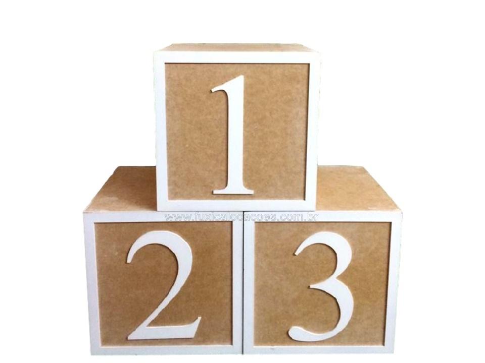 Aluguel cubos 123 nude 30 x 30 - Fuxica Locações de Kits e
